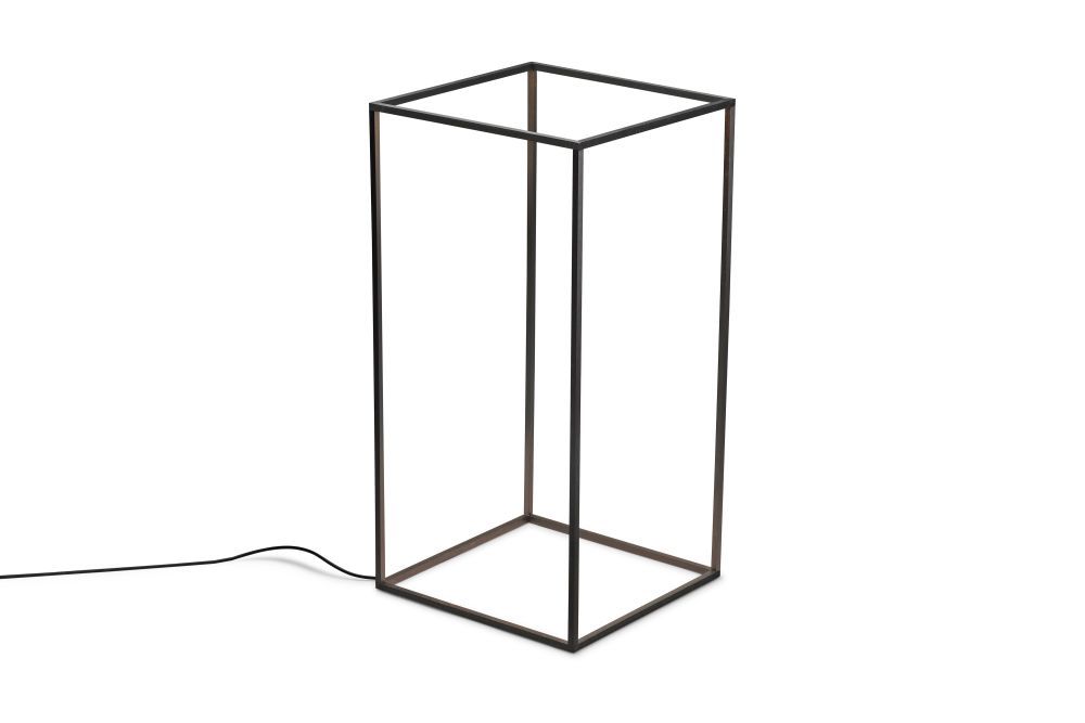 Metal Anodized Black,Flos,Floor Lamps,cylinder,line,table