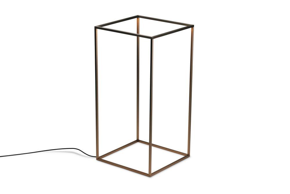 Metal Anodized Bronze,Flos,Floor Lamps,line,table