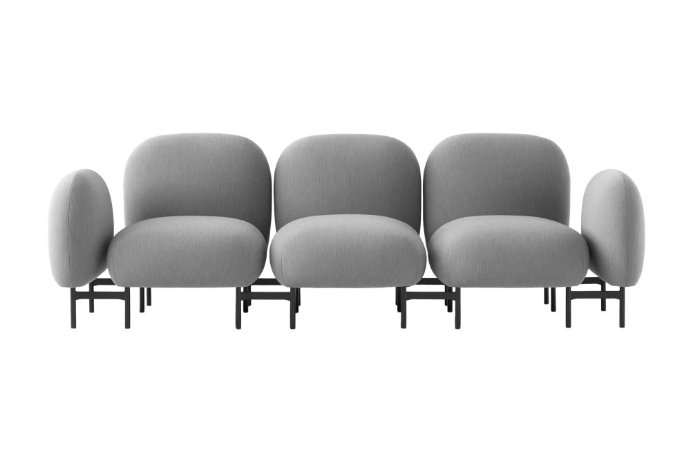 Isole Modular Seating System - 3 Seater Sofa with Armrests by &Tradition