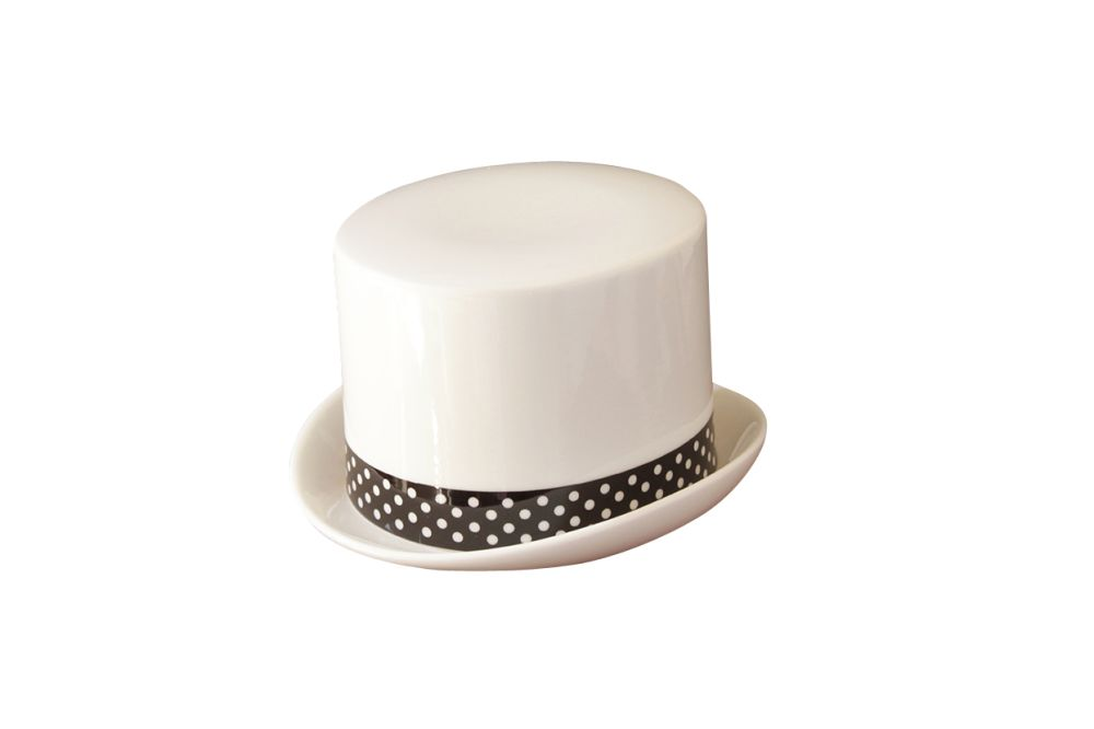 Peter Ibruegger Studio,Teapots & Cups,beige,costume hat,headgear,white