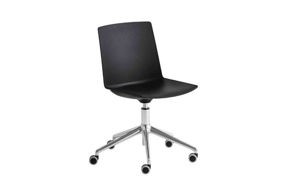 00 White,Gaber,Conference Chairs,chair,furniture,line,material property,office chair,plastic,product