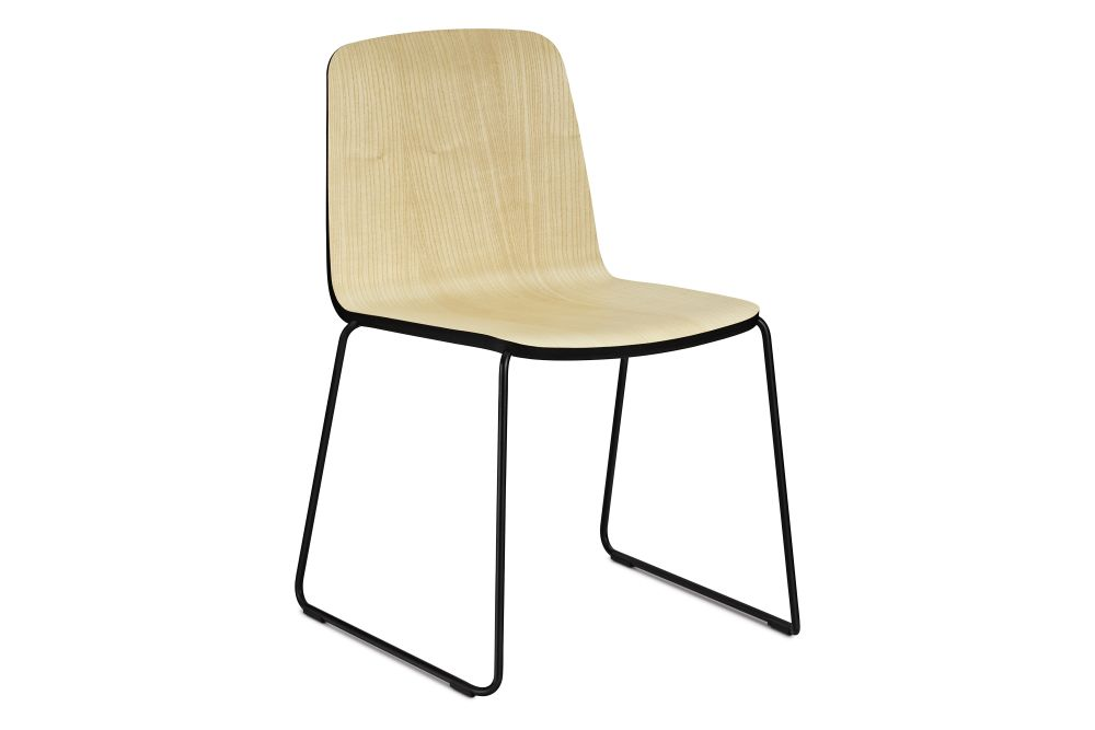 Ash/Black/Black,Normann Copenhagen,Dining Chairs,chair,furniture,wood
