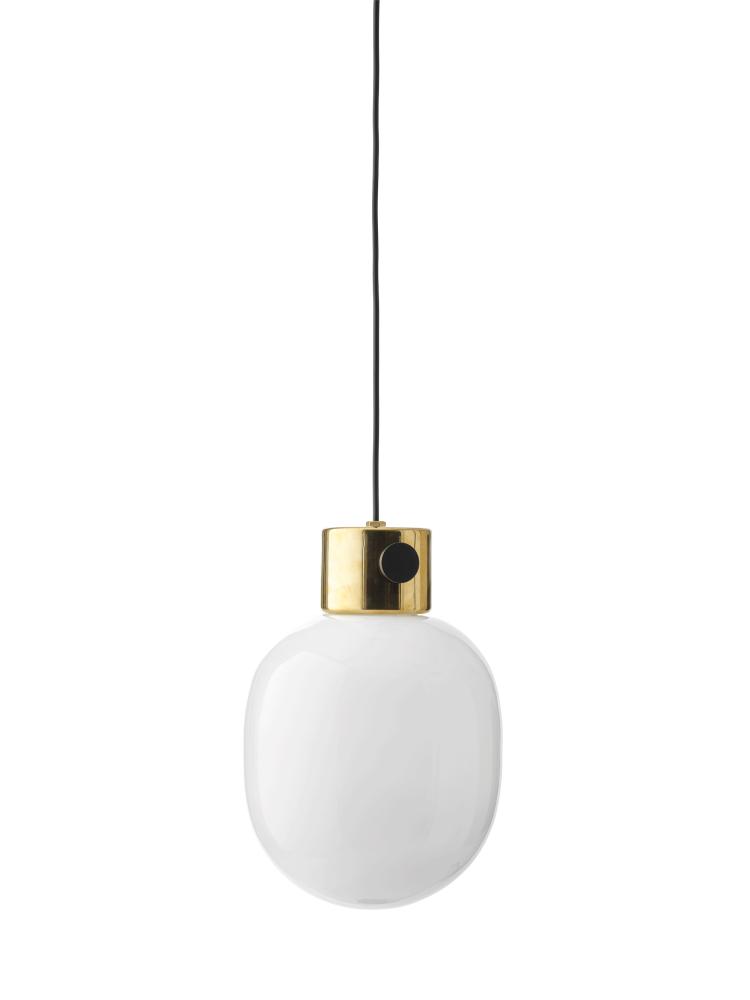 Polished Brass,MENU,Pendant Lights,ceiling,ceiling fixture,lamp,light,light fixture,lighting,white