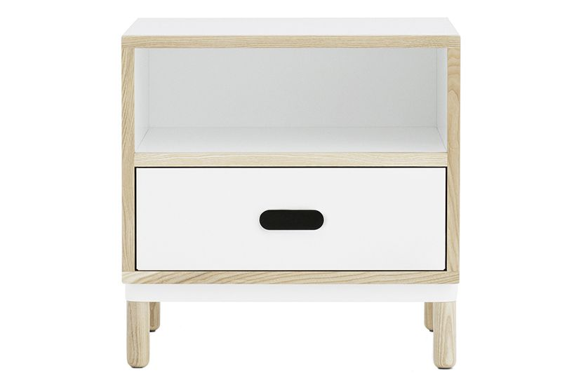 White,Normann Copenhagen,Bedside Tables,chest of drawers,drawer,dresser,furniture,nightstand,shelf,table