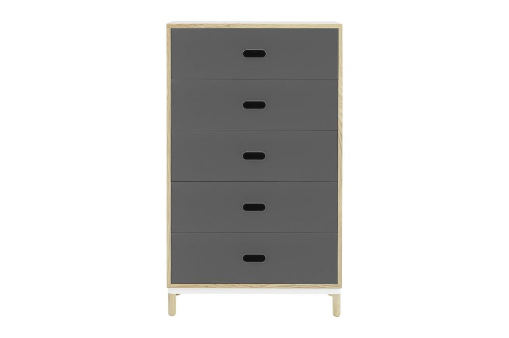 White,Normann Copenhagen,Chest of Drawers,chest of drawers,chiffonier,drawer,dresser,furniture