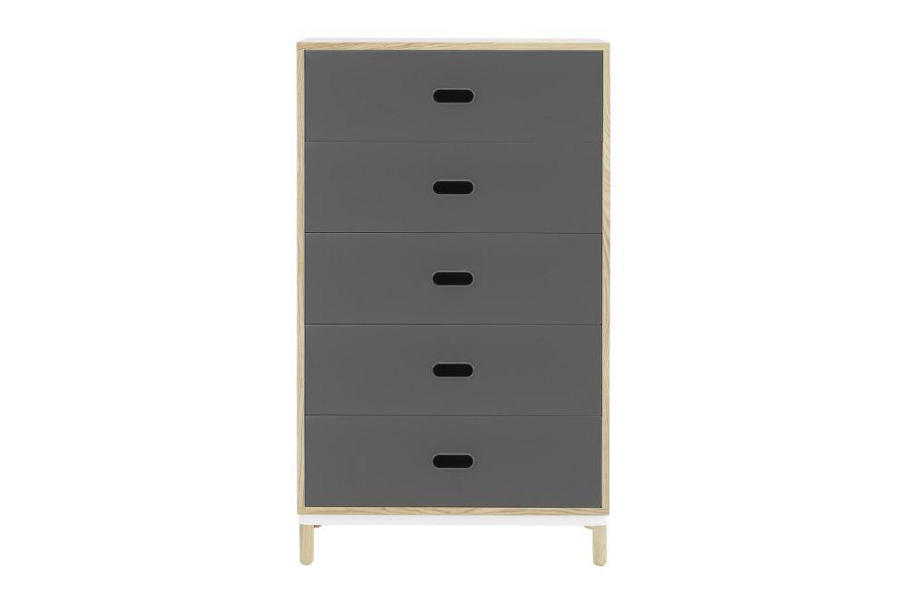 Grey,Normann Copenhagen,Chest of Drawers,chest of drawers,chiffonier,drawer,dresser,furniture