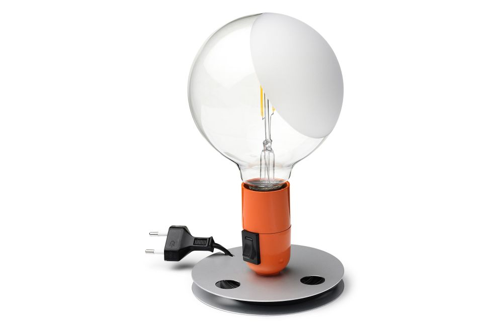Metal Orange,Flos,Table Lamps,emergency light,lamp,light,light bulb,light fixture,lighting