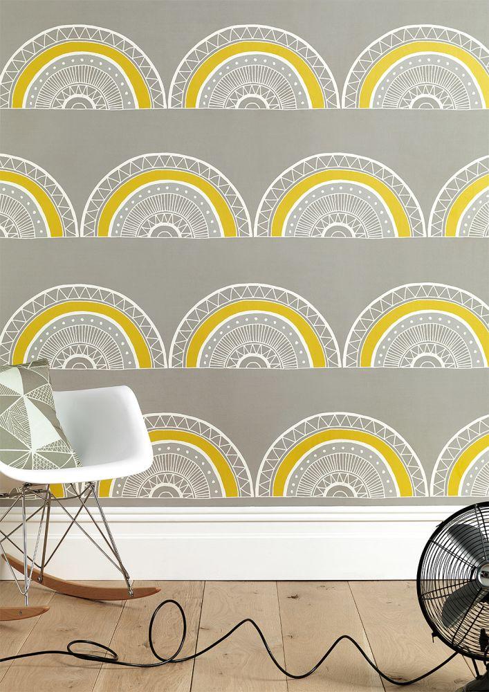 Order A Roll,Sian Elin ,Wallpapers,design,wall,wallpaper,yellow