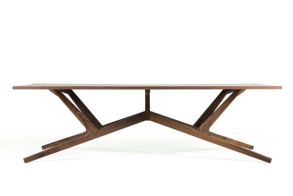 Liberty Walnut,MOOOI,Dining Tables,coffee table,furniture,outdoor furniture,outdoor table,plywood,sofa tables,table,wood