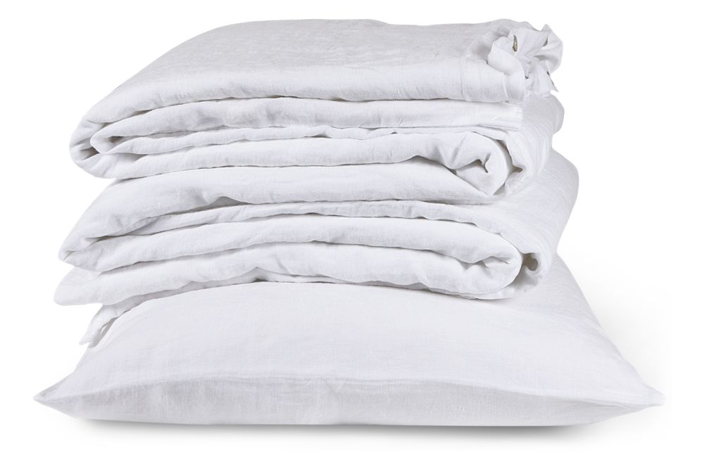 Single,The Linen Works,Bedding,bedding,duvet,duvet cover,linens,textile,white