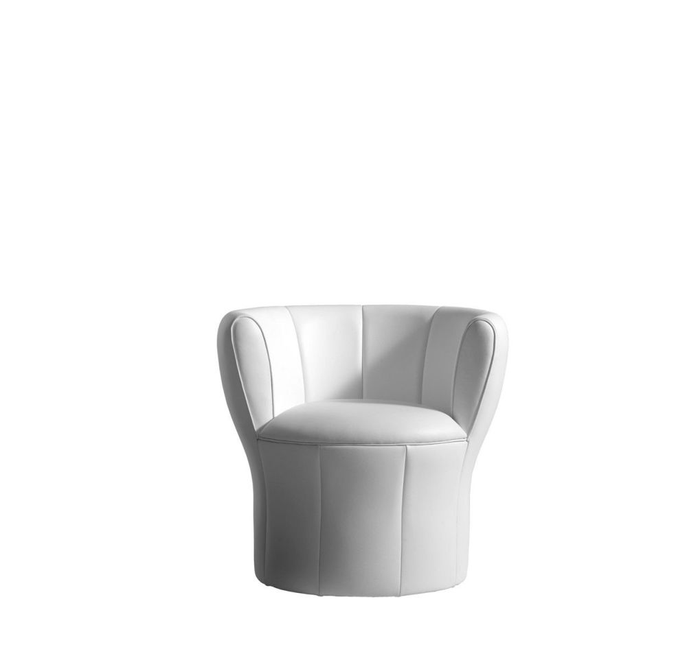 Cairo - Bianco 01,Driade,Armchairs,chair,club chair,furniture,product,white