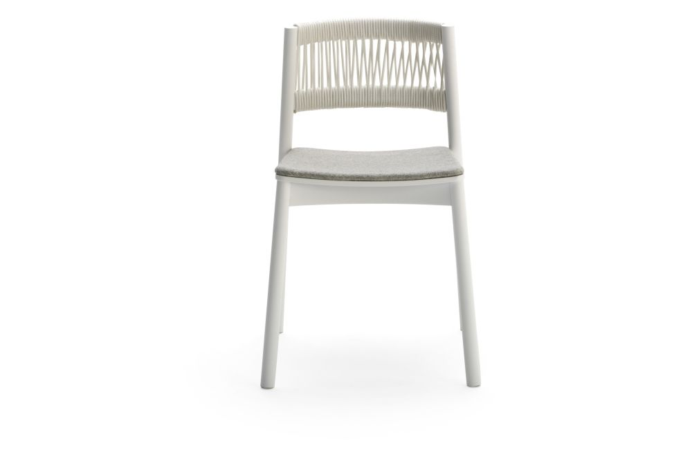 Divina 3 106, Beechwood 0078, White,Billiani,Dining Chairs,chair,furniture