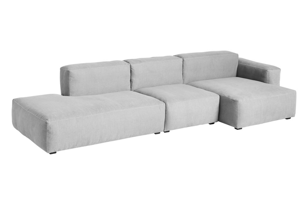 Fabric Group 3, Right,Hay,Sofas,beige,chair,chaise longue,comfort,couch,furniture,sofa bed