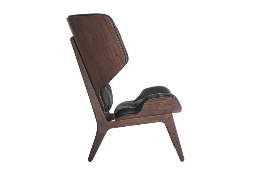Oak Smoked , Dunes 21002 Rust,NORR11,Lounge Chairs,chair,furniture,wood