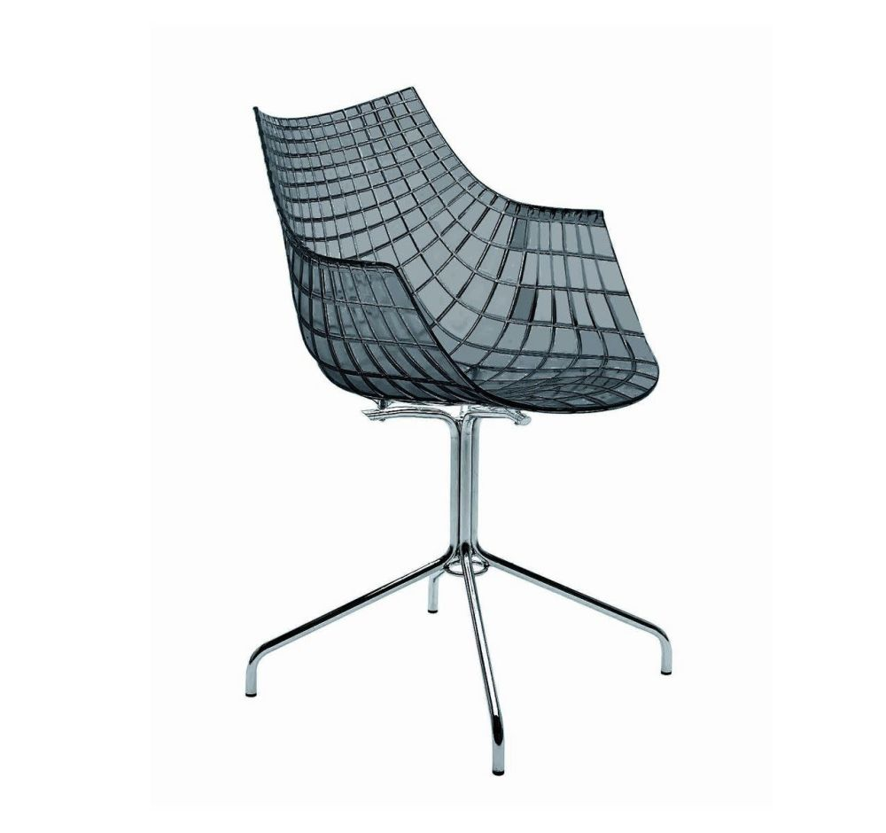 Matt Black, White,Driade,Seating,chair,furniture,office chair