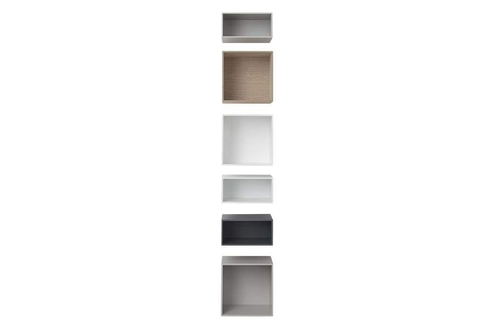 Mini Stacked Storage System 2.0 - Configuration 3 by Muuto