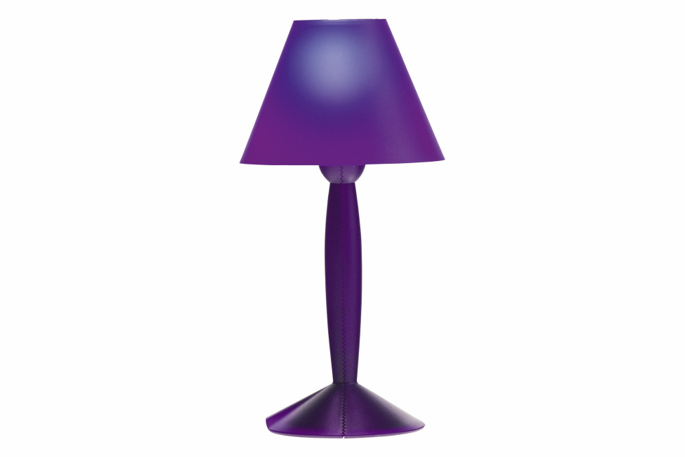 Polycarbonate White,Flos,Table Lamps,lamp,lampshade,light fixture,lighting,lighting accessory,purple,table,violet