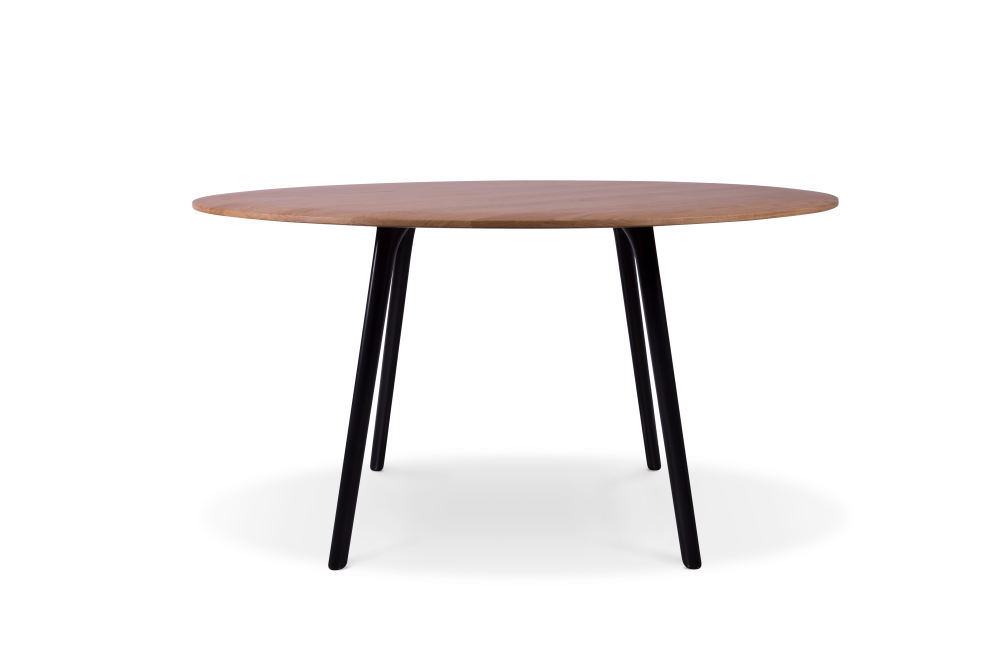 Oak Veneer, RAL9016 - Traffic White,Modus ,Conferencing Tables,coffee table,end table,furniture,outdoor table,oval,plywood,table,wood