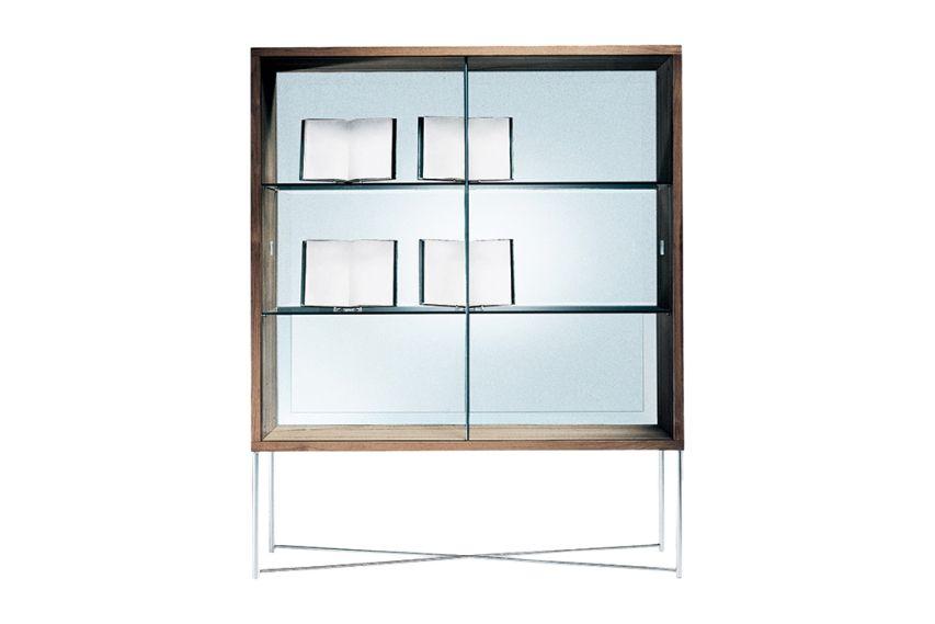 Moka Glass Cupboard by Flexform