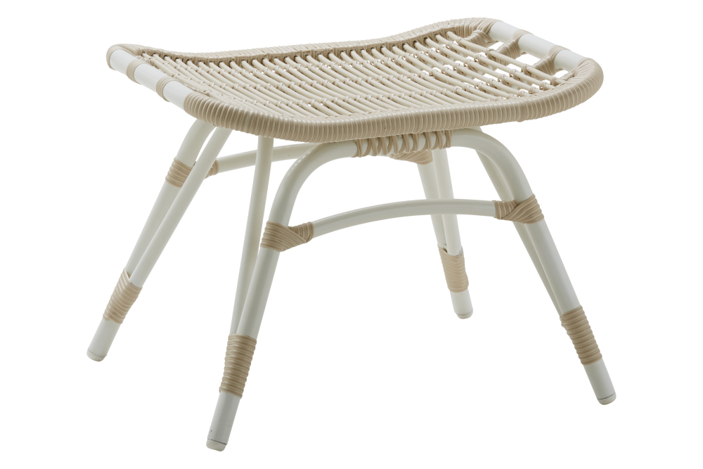 Monet Outdoor Foot Stool Set of 2 by Sika Design