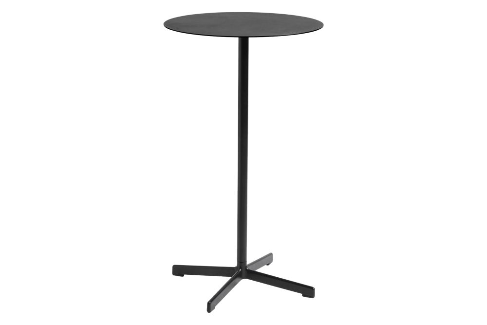Metal Anthracite, 105cm,Hay,High Tables,end table,furniture,outdoor table,table