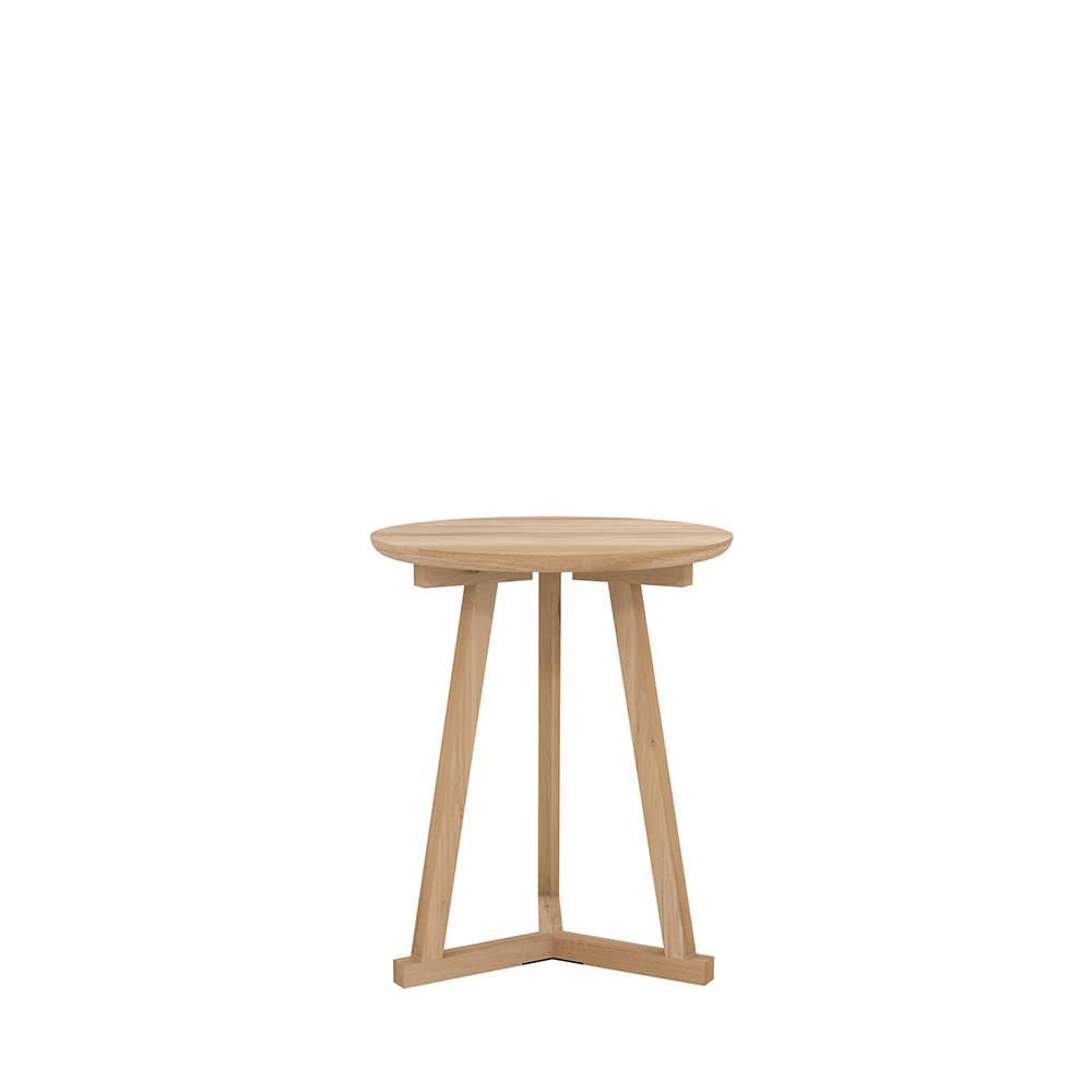 Oak Tripod Side Table by Ethnicraft