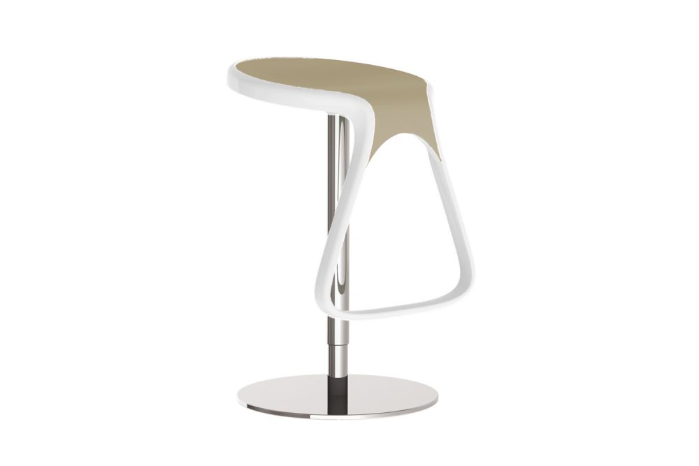 52/01, Chromed Metal, Adjustable,Gaber,Stools,bar stool,furniture,stool,table