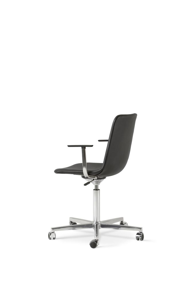 Chrome Steel, Leather 70 Beige,Fredericia,Office Chairs,chair,furniture,line,office chair,product