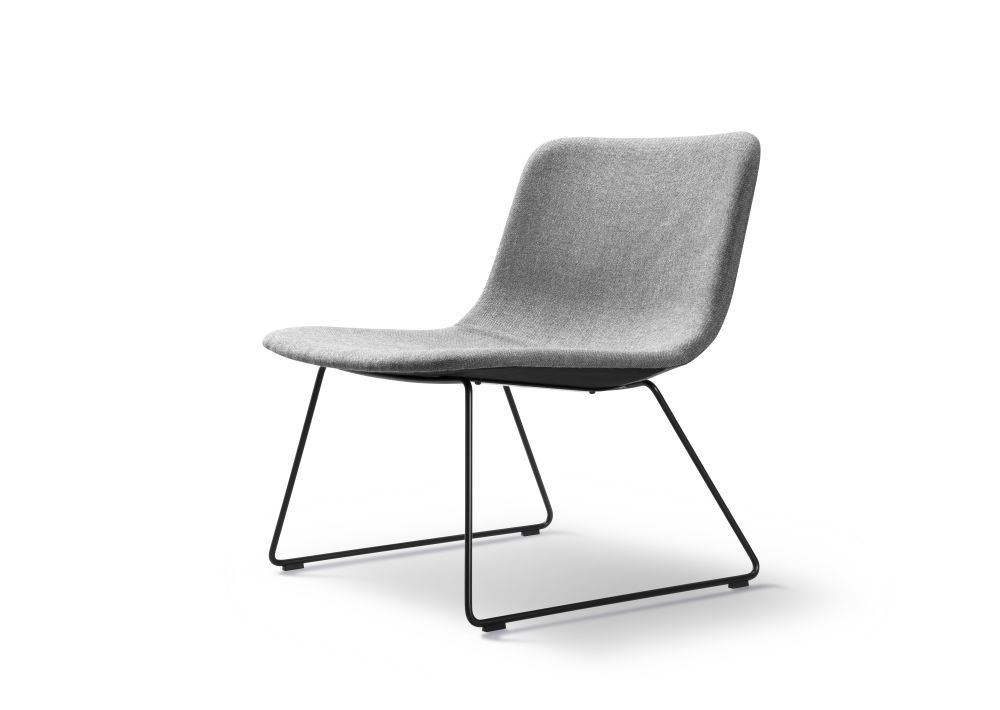 Chrome Steel, Remix 2 143,Fredericia,Lounge Chairs,chair,furniture