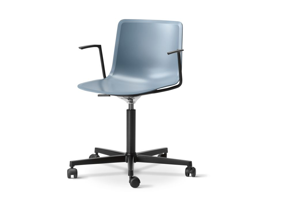 Chrome Steel, Quartz grey,Fredericia,Seating,chair,furniture,office chair,product