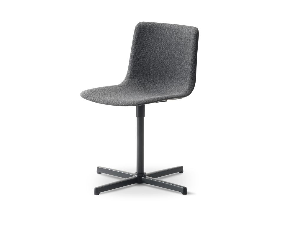 Chrome Steel, Remix 2 143,Fredericia,Seating,chair,furniture,office chair
