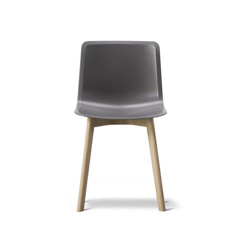 Oak Black Lacquered, Quartz grey,Fredericia,Seating,chair,furniture
