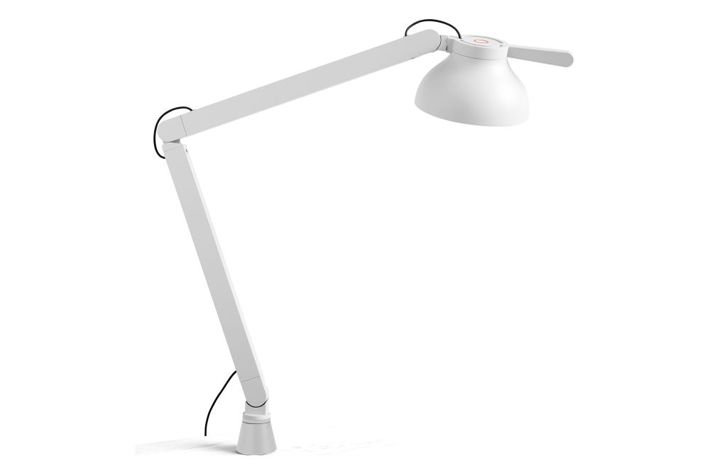 Metal Soft Black,Hay,Table Lamps,arm,ceiling,lamp,light,light fixture,lighting,white