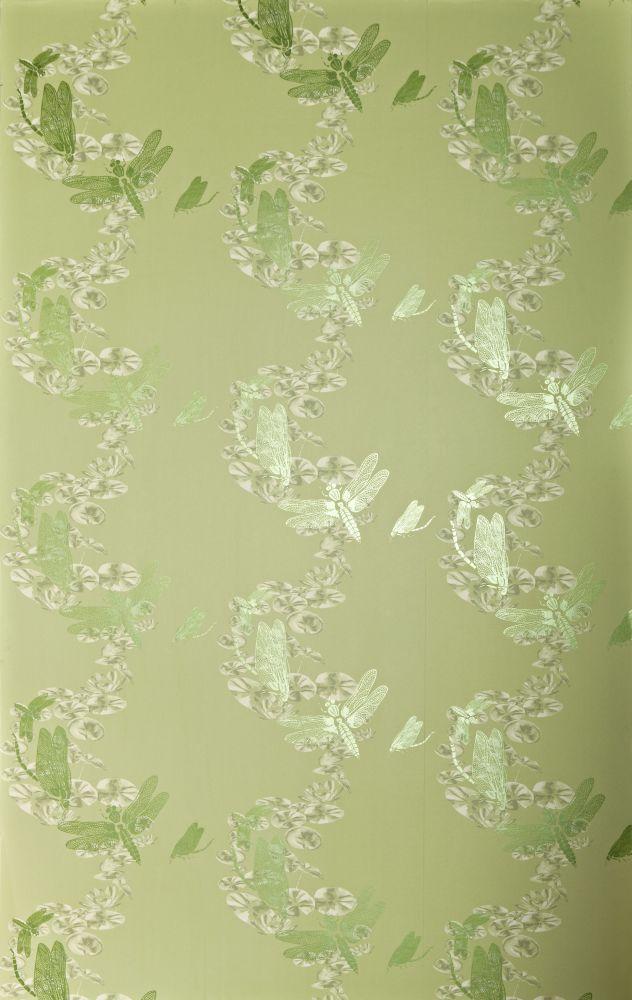 Pewter,Barneby Gates,Wallpapers,design,green,pattern,wallpaper