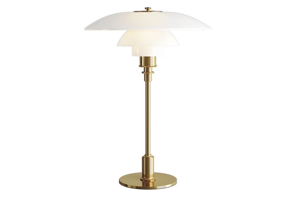 Brass Metallised, EU Plug,Louis Poulsen,Table Lamps,brass,lamp,lampshade,light fixture,lighting,lighting accessory,metal,table