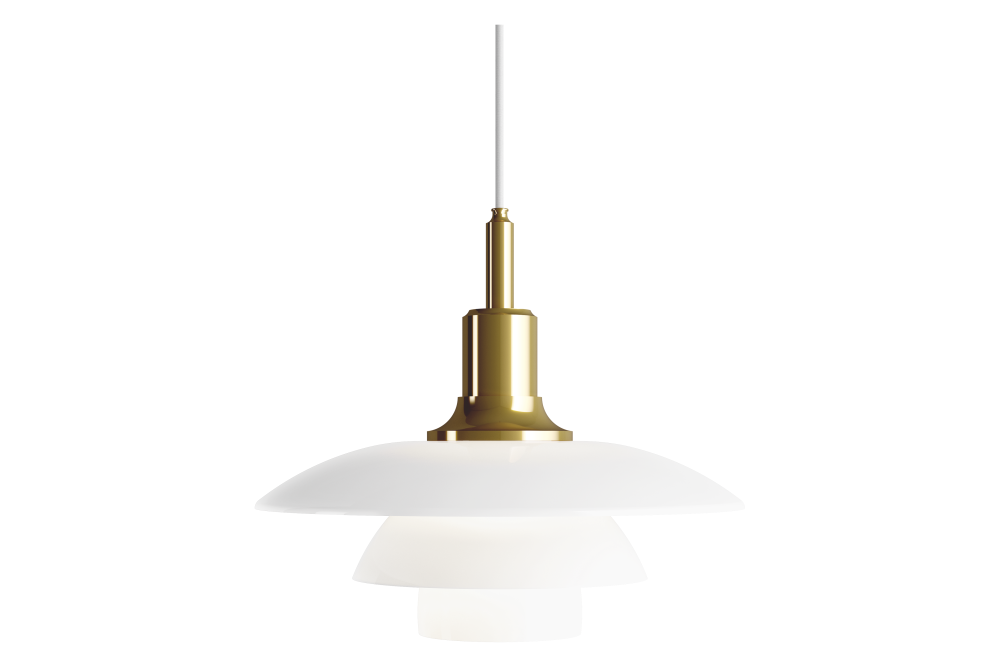 Brass Metallised,Louis Poulsen,Pendant Lights,brass,ceiling,lamp,light fixture,lighting