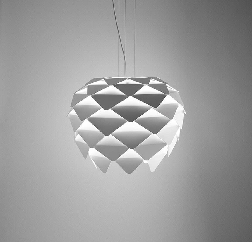 Phi Suspension Lamp by B.LUX