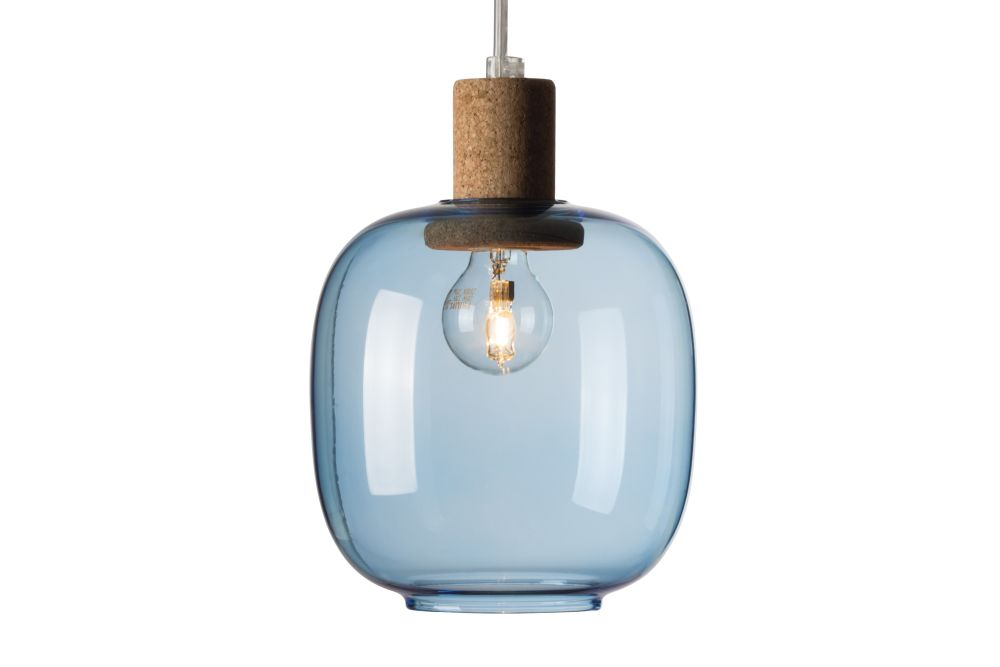 Smoked,Enrico Zanolla,Pendant Lights,blue,ceiling,lamp,light fixture,lighting,turquoise