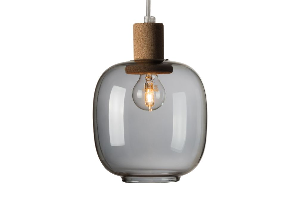Smoked,Enrico Zanolla,Pendant Lights,ceiling,ceiling fixture,lamp,light,light fixture,lighting