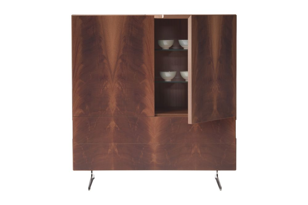 Piuma Cabinet With Doors and Drawers by Flexform
