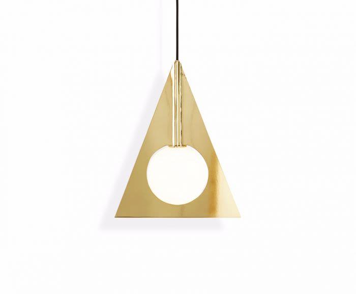 Plane Triangle Pendant Light by Tom Dixon