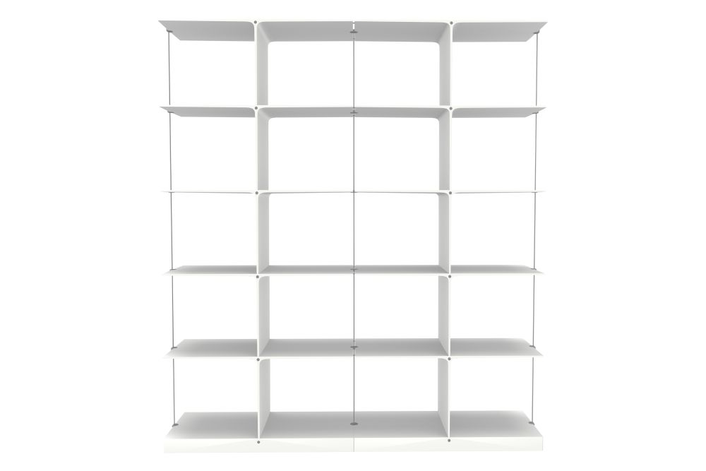 5x2 White,Engelbrechts,Bookcases & Shelves,bookcase,furniture,shelf,shelving