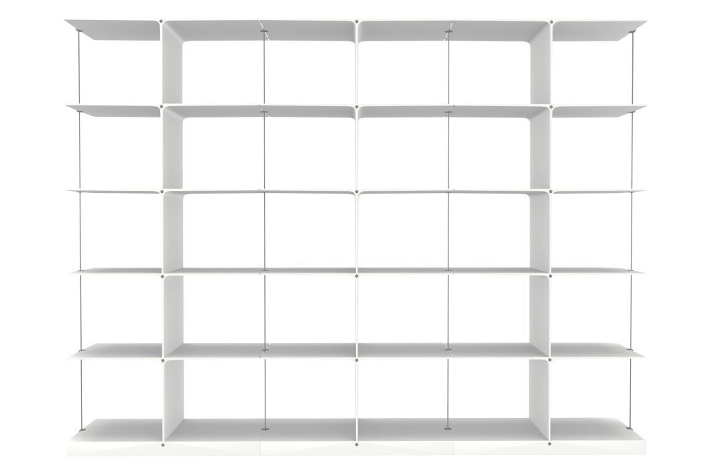 5x3 White,Engelbrechts,Bookcases & Shelves,bookcase,furniture,shelf,shelving