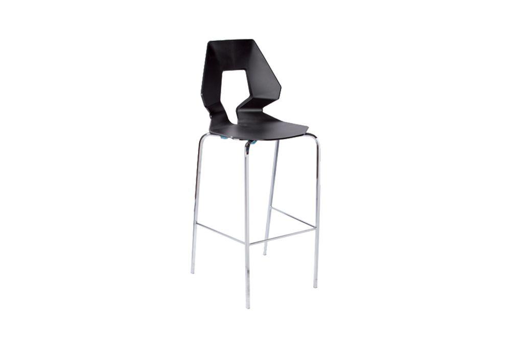 00 White, Chromed Metal,Gaber,Stools,bar stool,chair,furniture