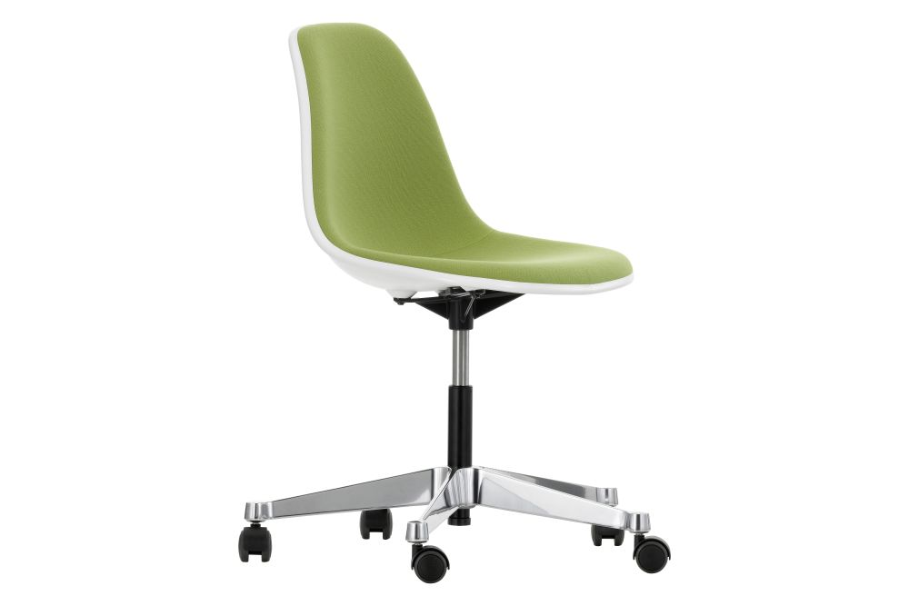 https://res.cloudinary.com/clippings/image/upload/t_big/dpr_auto,f_auto,w_auto/v2/products/pscc-eames-plastic-side-chair-with-full-upholstery-04-white-04-white-02-castors-hard-braked-for-carpet-hopsak-70-grass-greenforest-vitra-charles-ray-eames-clippings-11251256.jpg