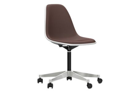 https://res.cloudinary.com/clippings/image/upload/t_big/dpr_auto,f_auto,w_auto/v2/products/pscc-eames-plastic-side-chair-with-full-upholstery-04-white-04-white-02-castors-hard-braked-for-carpet-hopsak-76-marronmoor-brown-vitra-charles-ray-eames-clippings-11251271.jpg