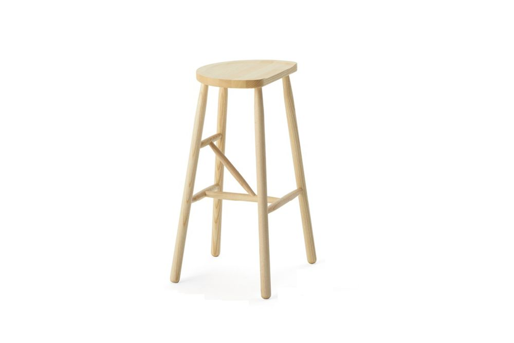 65cm, Bianco RAL 9016,Billiani,Stools,bar stool,beige,furniture,stool,table