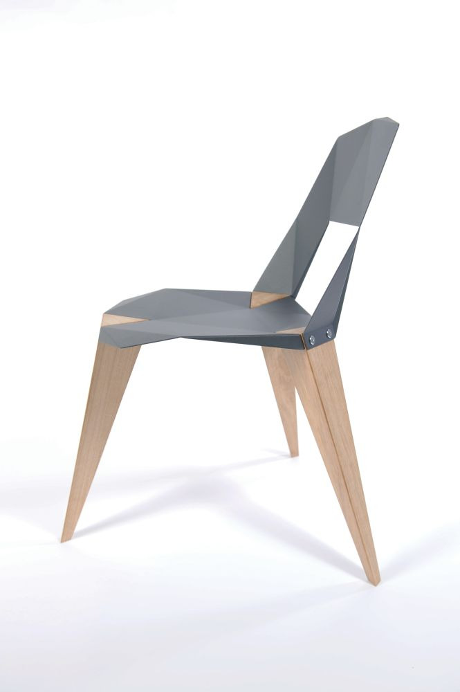 Pale Green, Aluminium Legs,Sander Mulder,Dining Chairs,chair,design,furniture,plywood,table