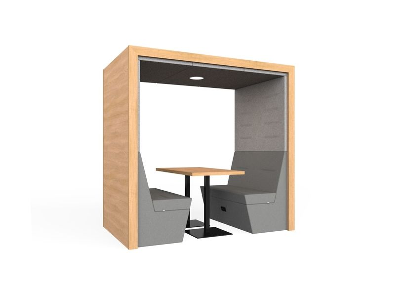 RYP-FSO 6 seat MFC Group 4,Spacestor,Acoustic Furniture,desk,furniture,product,table