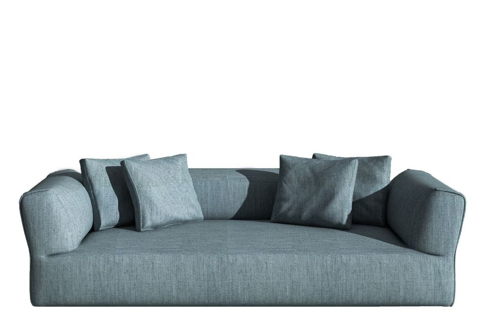 Rever Three-seater sofa by Driade